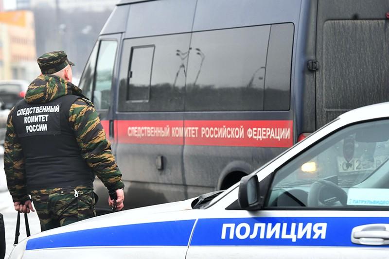Сотрудник следственного комитета России на месте происшествия