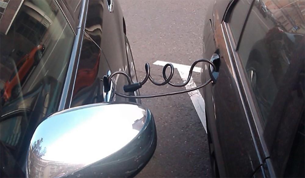 """""""новый"""" способ, как уйти от платы за парковку"""