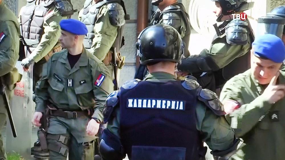 Полиция Сербии