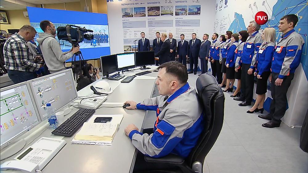 Запуск ТЭС в Крыму