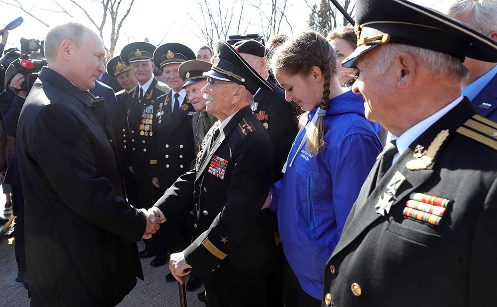 Владимир Путин встретился с ветеранами