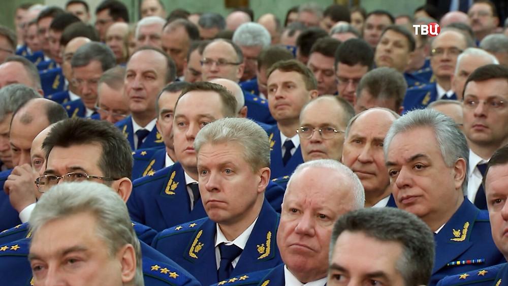 Расширенное заседании коллегии Генпрокуратуры Российской Федерации