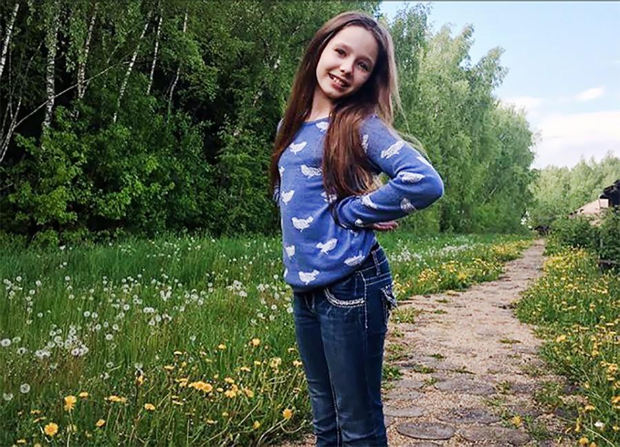 Дочь Юлии Началовой Вера Алдонина