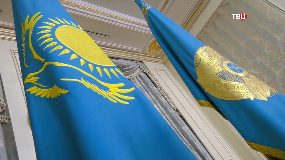 Флаги Казахстана