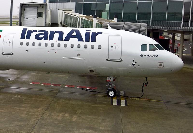 Самолёт авиакомпании Iran Air