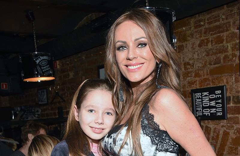 Юлия Началова и ее дочь Вера