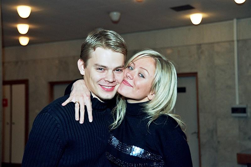 Юлия Началова и Дмитрий Ланской