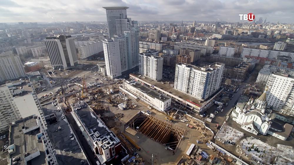 """Строительство станции метро """"Стромынка"""""""