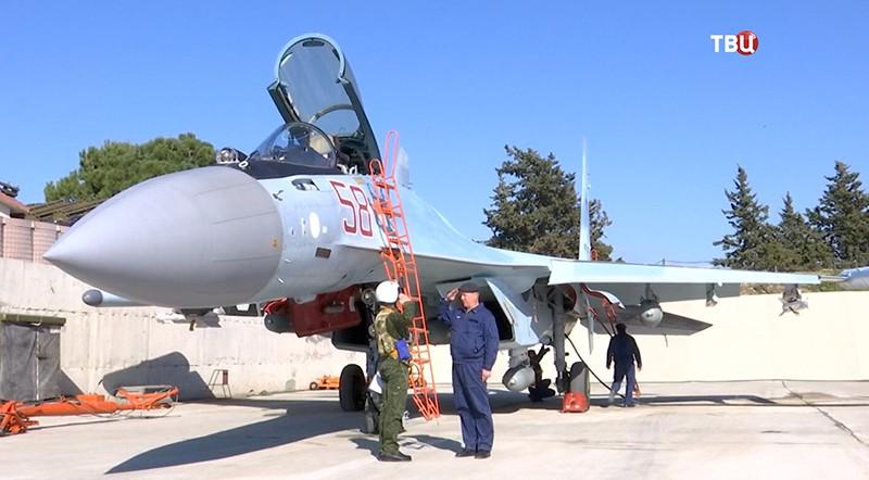 Российские летчики в Сирии