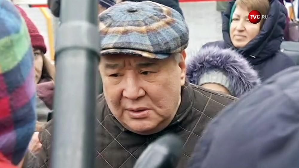 Бизнесмен, меценат Алимжан Тохтахунов
