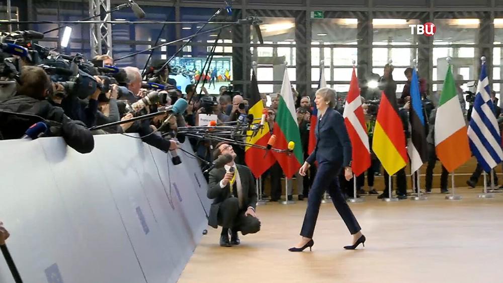 Тереза Мэй на саммите Евросоюза