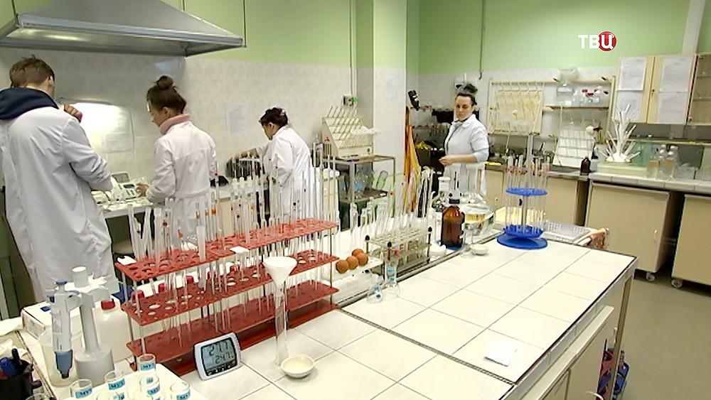 Лаборатория Мосводоканала