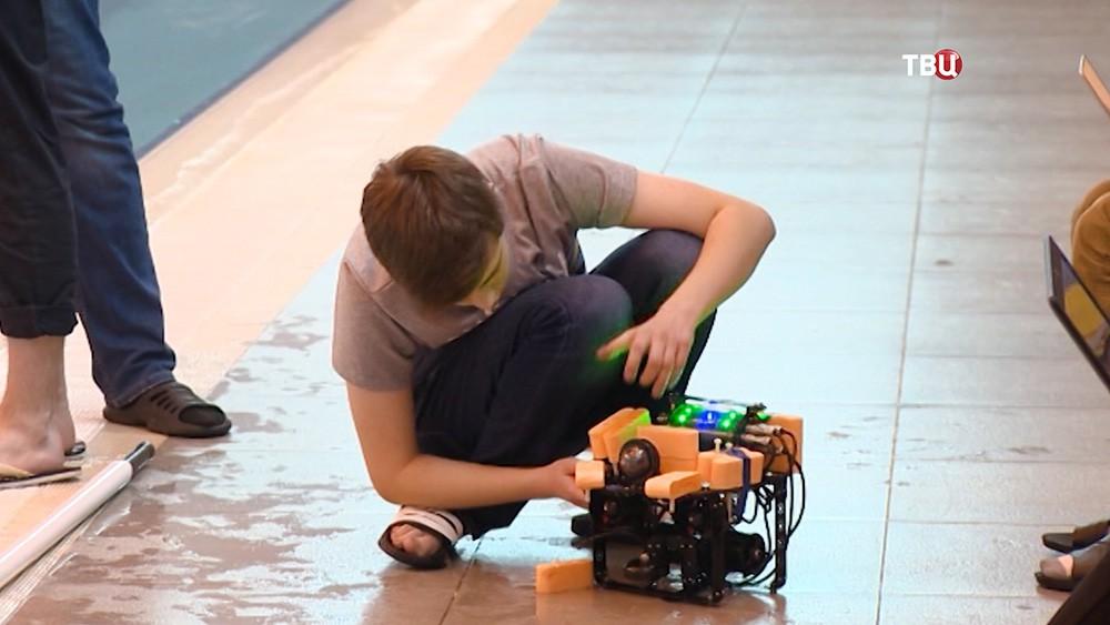 Разработка морской робототехнике