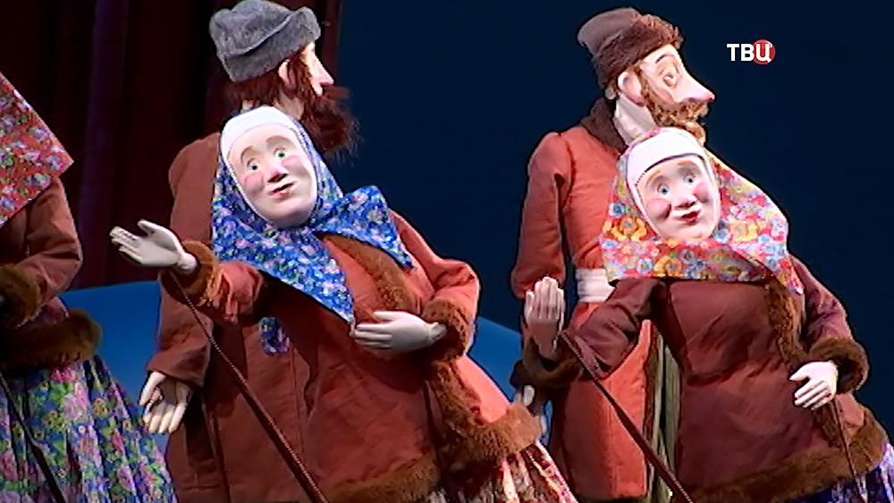 Спектакль  в театре кукол им. Образцова