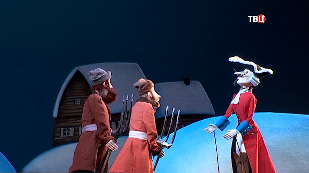 Спектакль о бароне Мюнхгаузене в театре кукол им. Образцова