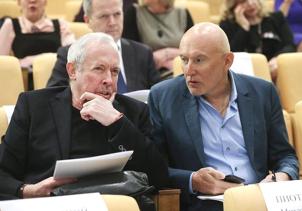 Игорь Матвиенко и Андрей Макаревич