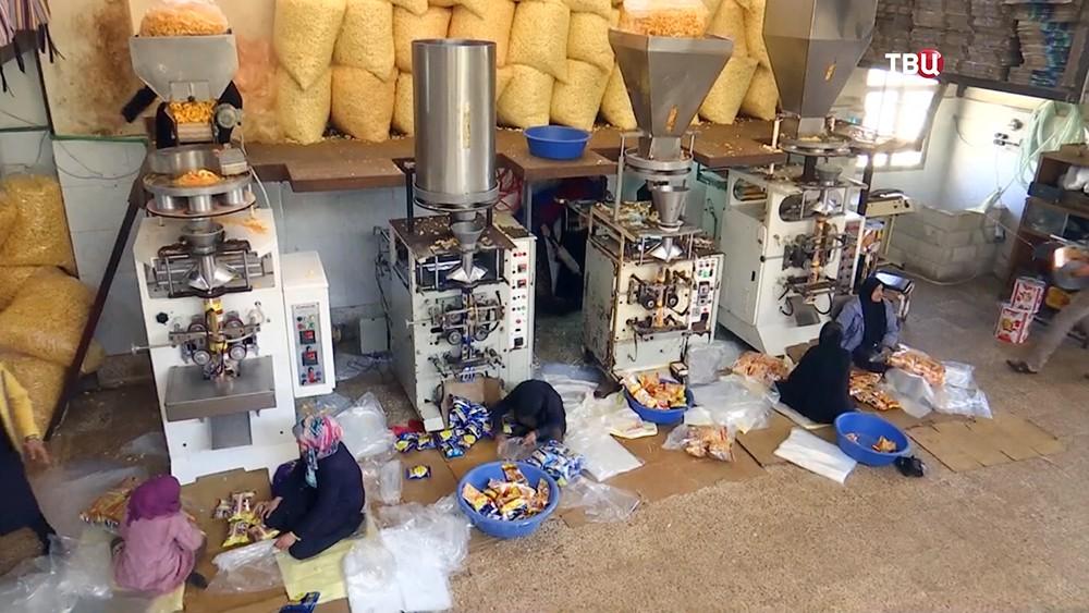 Фабрика в Сирии