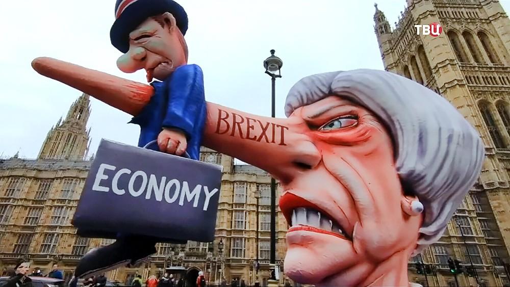 Марш противников Brexit в Лондоне