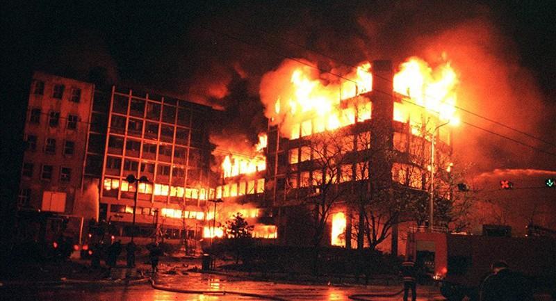 Последствия бомбардировки Югославии силами НАТО