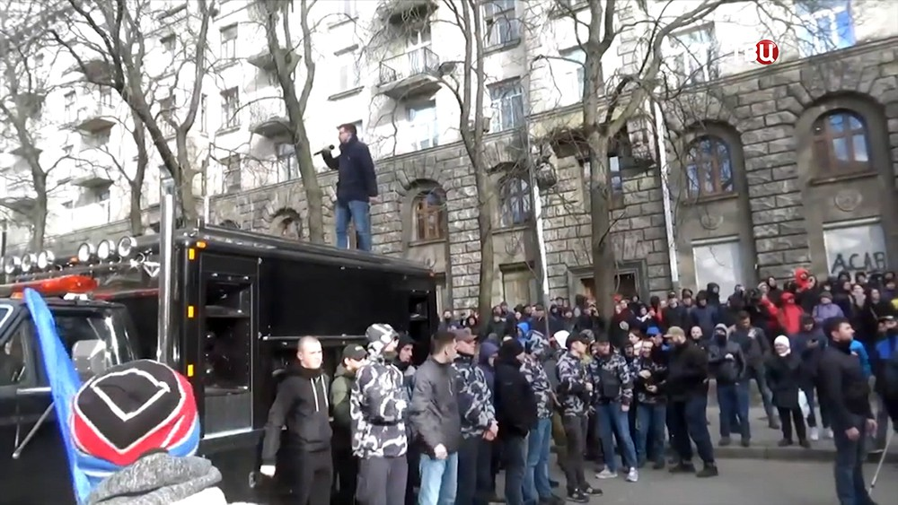 Украинские радикалы в Киеве