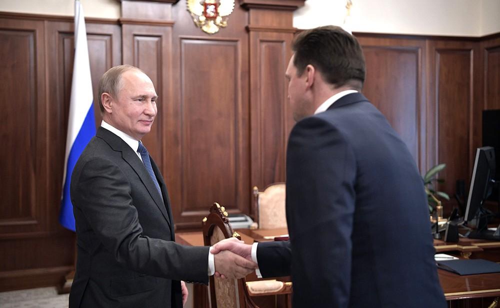 Владимир Путин и Николай Подгузов