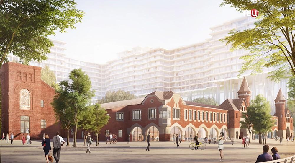 Проект Бадаевского завода