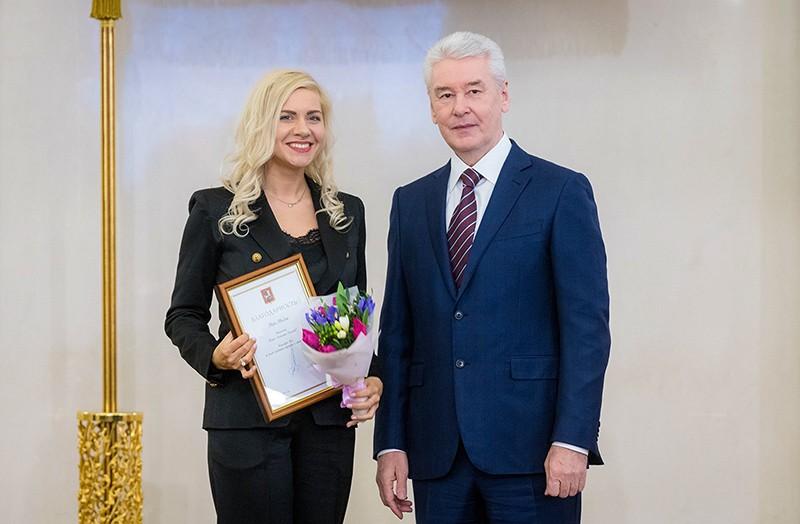 Церемония вручения наград города Москвы работникам культуры