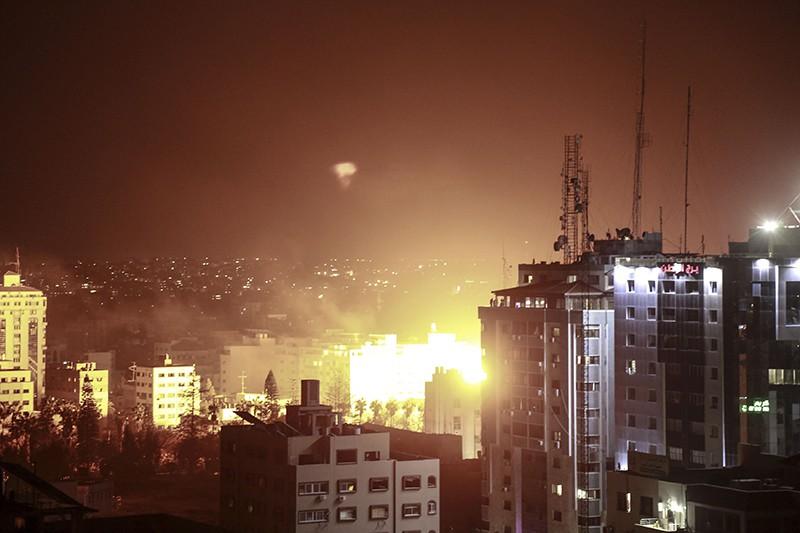 Удар израильской армии по сектору Газа