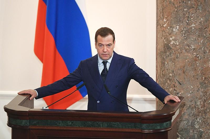 Дмитрий Медведев на расширенном заседании коллегии министерства финансов России