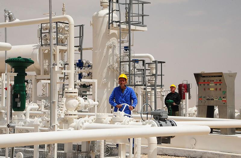 Добыча газа в США