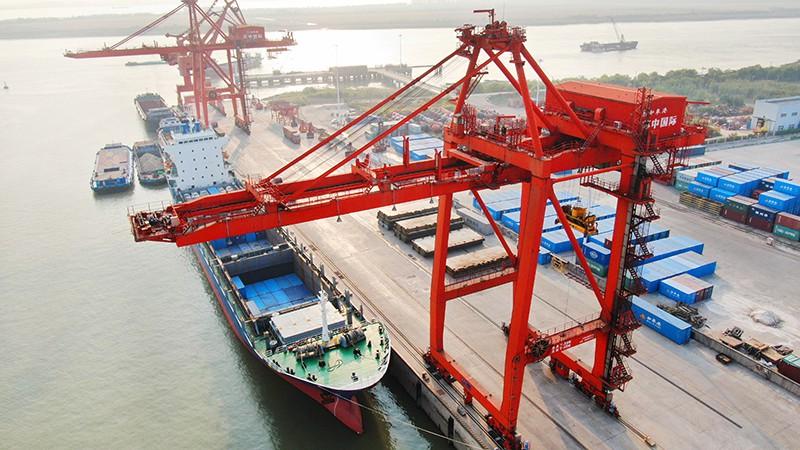 Морской порт Лункоу, Китай