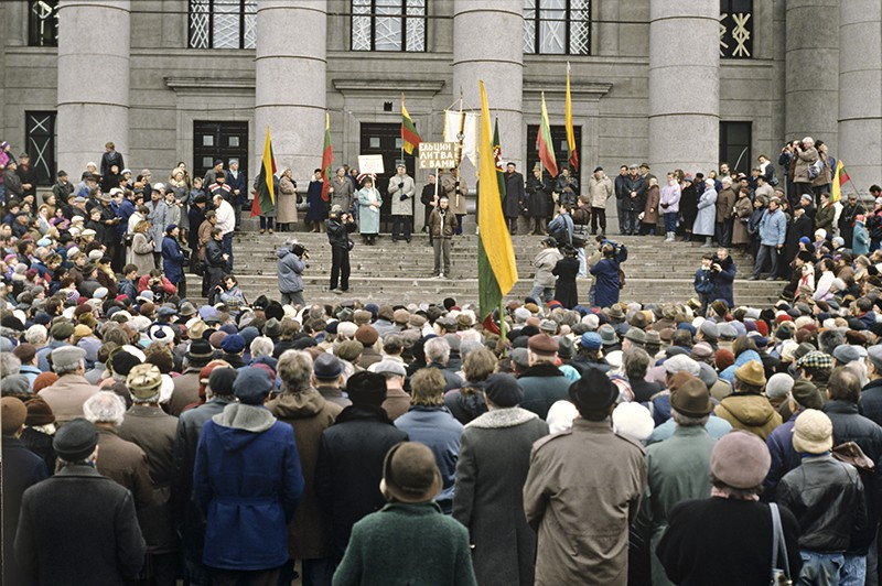 События в Вильнюсе. 1991 год