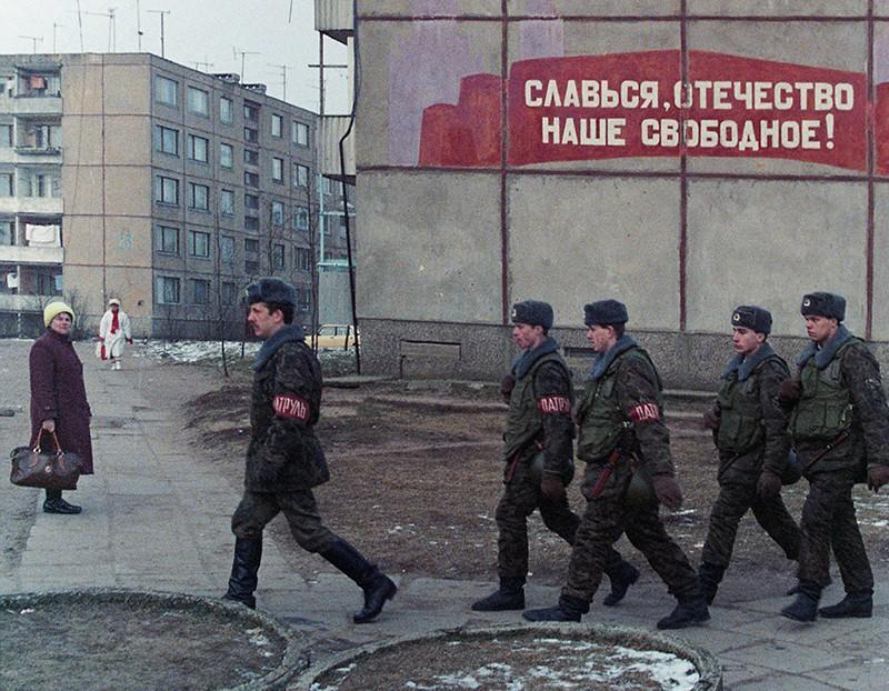 Военный патруль. События в Вильнюсе. 1991 год