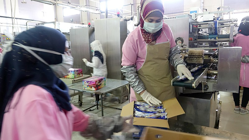 Фабрика сладостей в Сирии