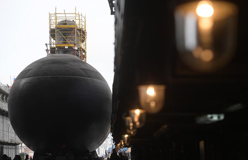 """Подводная лодка проекта 636.3 """"Петропавловск-Камчатский"""""""
