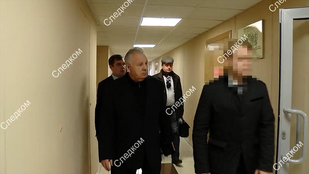 СКР показал видео задержанного Ишаева
