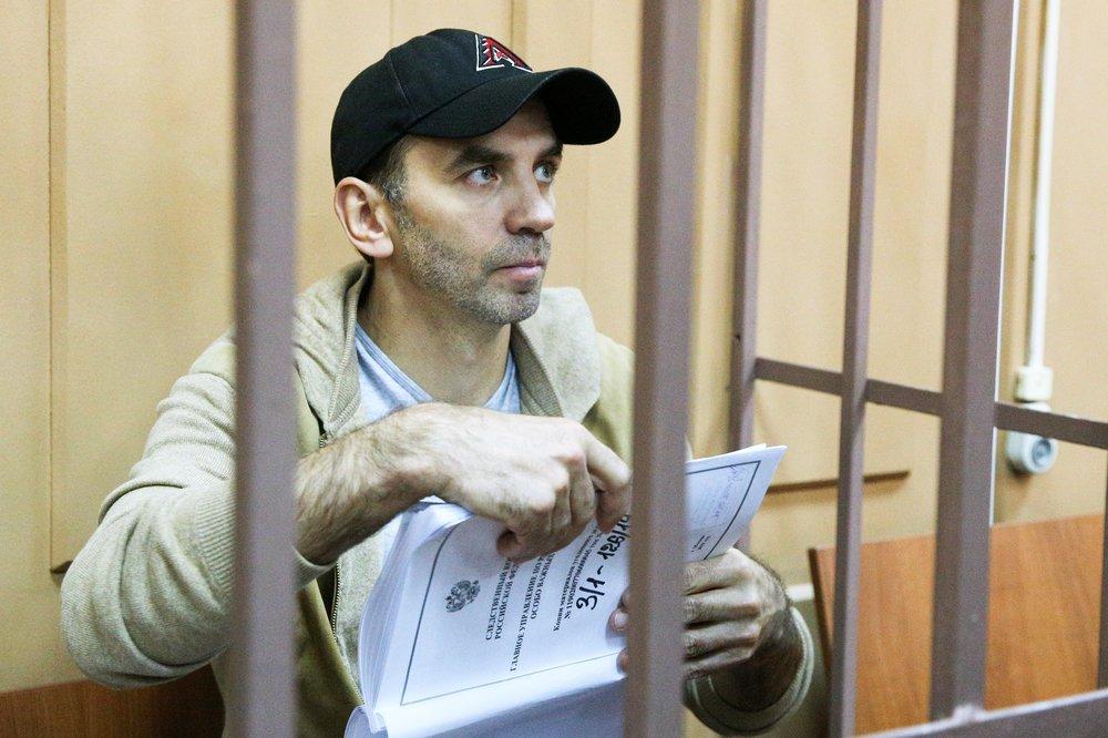 Михаил Абызов в суде