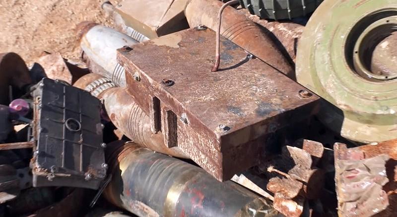Найденные боеприпасы в Сирии