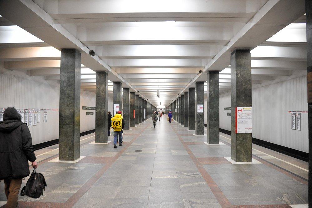 """Станция """"Преображенская площадь"""""""