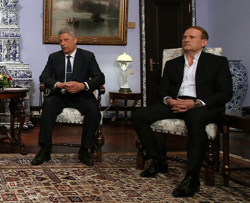 Юрий Бойко и Виктор Медведчук