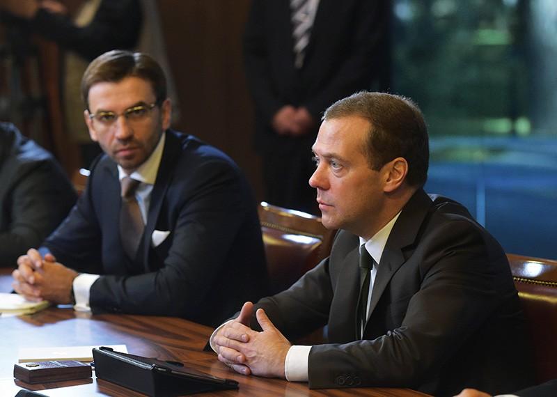 Дмитрий Медведев и Михаил Абызов