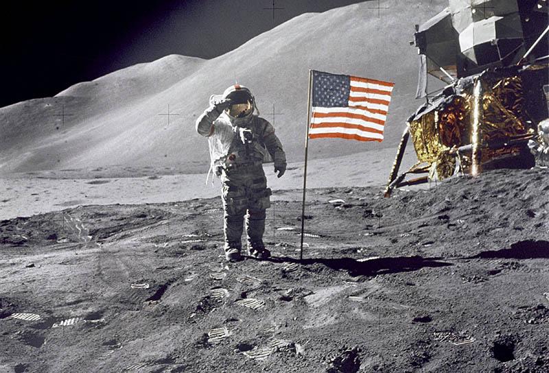 Посадка на Луну