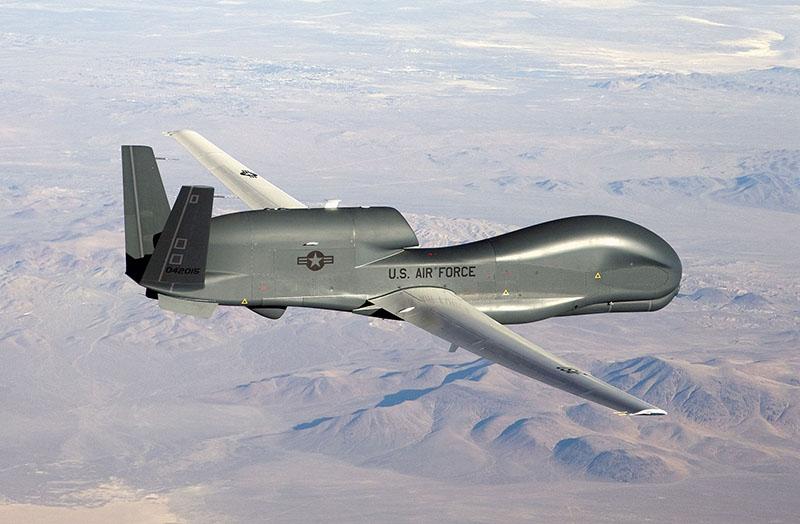 Беспилотный ЛА Global Hawk
