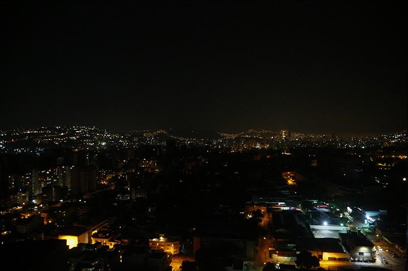 Отключение электричества в Каракасе, Венесуэла