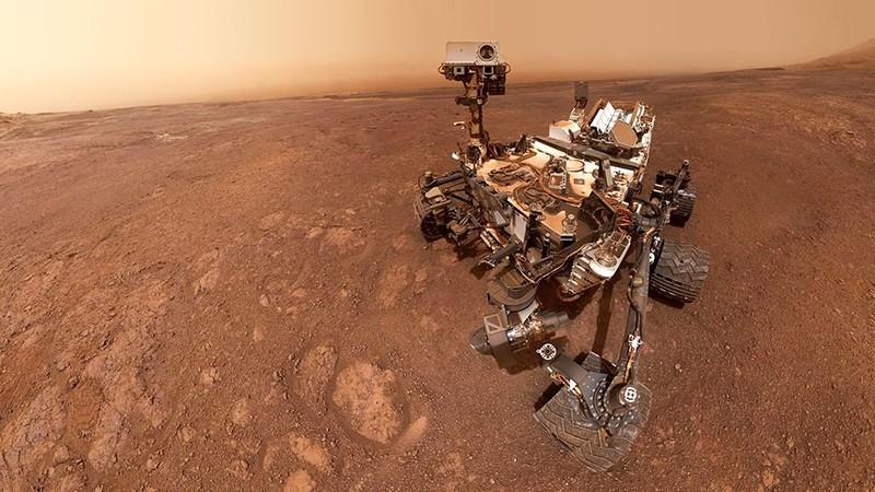 Марсоход Curiosity. Исследование поверхности Марса
