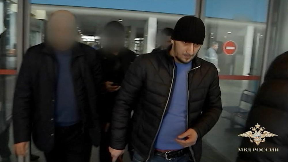 Задержанный Муслим Джамбеков