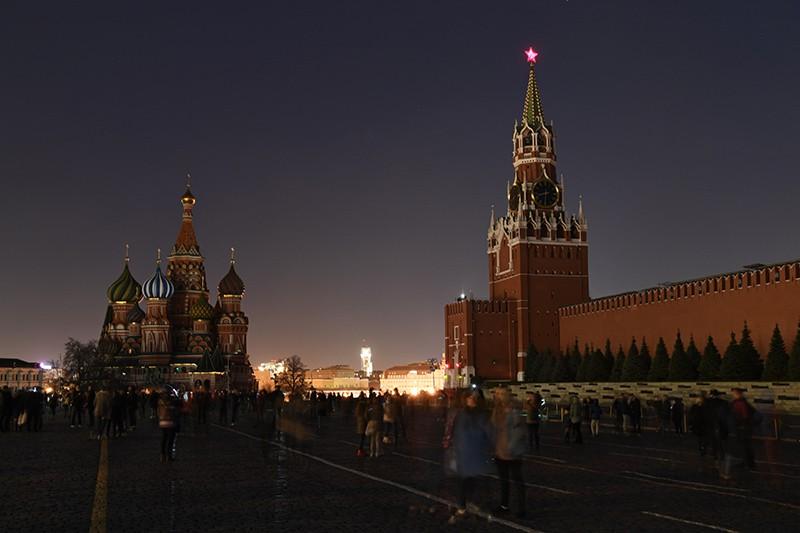 """Акция """"Час Земли"""" в России"""