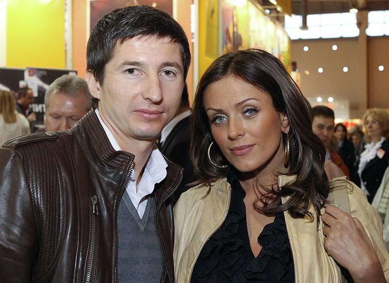 Евгений Алдонин и певица Юлия Началова