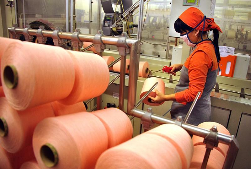 Текстильная фабрика в Сирии