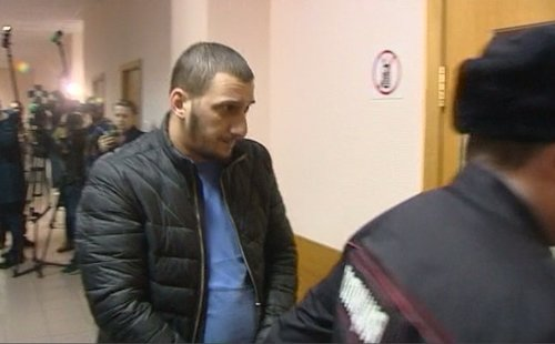 Муслим Джамбеков, обвиняемый в совершении ДТП